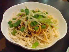 Chilled Sichuan Noodle