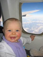 Leda on Airplane
