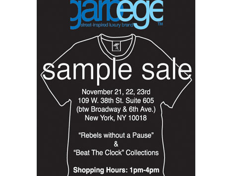 garbege_samplesale