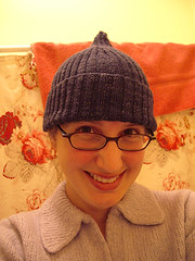 agent gray's koigu hat