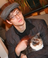 Chris Koza and Cozy Kitty