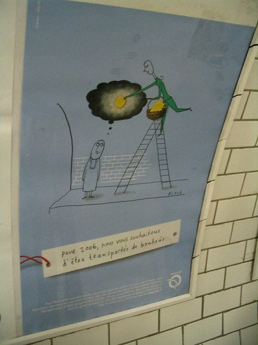 ipub jean-julien guyot carte postale publicitaire RATP Paris