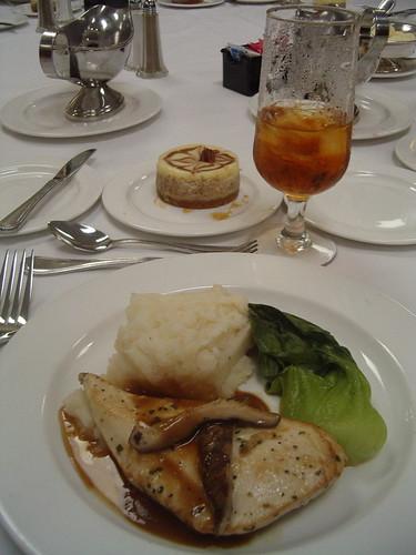 Conference food cliche