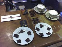 Chocolate tasting at La Pastaia