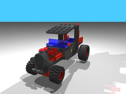 Lego Hotrod