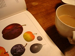 tea and plums
