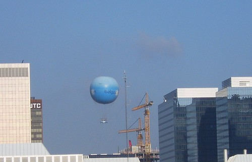 Shout out to the blue balloon by Frank