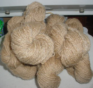 Coopworth Walnut Dyed Skeins