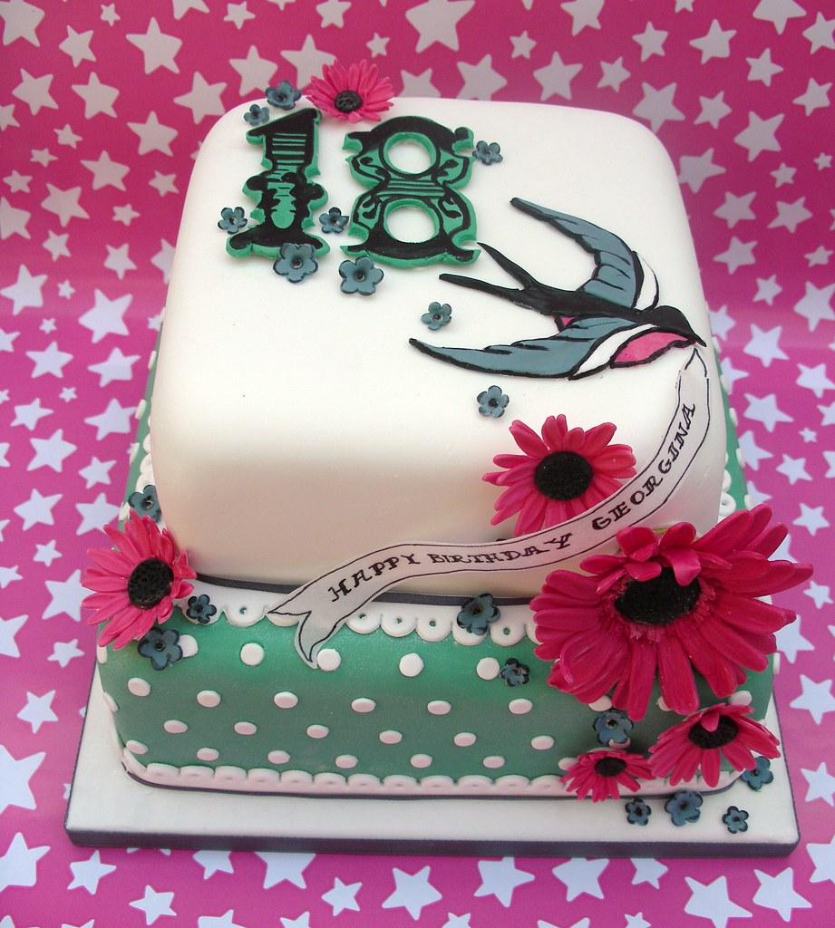 Georgina's 18th birthday cake photo by nice icing