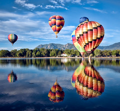 "Colorado Balloon Classic - ""Blue Reflections"" photo by iceman9294"