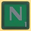 scrabble letter N