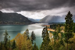 Olympic NP Through Lake Cushman Gap photo by JamesWatkins