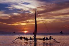 Boracay Sunset - Philippines photo by An diabhal glas