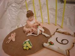 La torta per la mia dolce ballerina photo by Le dolci creazioni di Michela