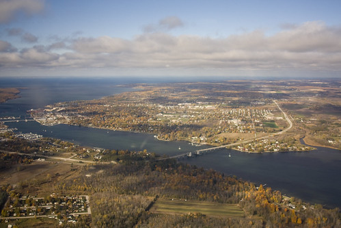 Above Sturgeon Bay