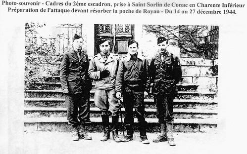 11 Cuirassiers- Poche de l'Atlantique - Saint Sorlin de Conac