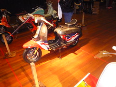 Lambretta Union Jack Custom GP200 SIL photo by i-paint.net