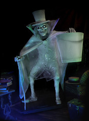 "Haunted Mansion ""Hatbox Ghost"" Replica Figure by Kevin Kidney & Jody Daily photo by Miehana"