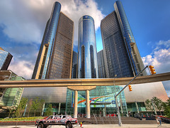 Renaissance Center (GM) photo by paul bica