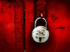A lock is better than suspicion. (EXPLORED) photo by Atul Tater