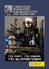 Shock Trooper - BrickArms Black Lodge Customs BrickCon 2009 Exclusive photo by enigmabadger