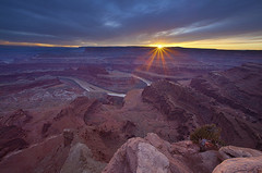 Sunstar Dead Horse Point State Park - Moab, Utah photo by Will Shieh