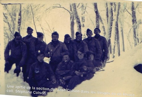 1945- Alsace- BM 5 -Col. Stéphane Colson