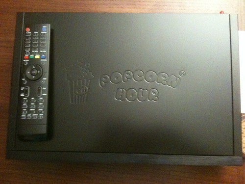 PopcornHour C200 Top with Remote