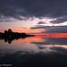 Sunset on Ada Bojana