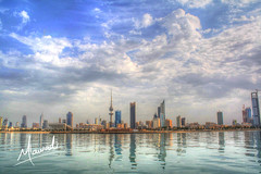 kuwait city {HDR} photo by Mohammed AL-Awadi احبج ياكويت
