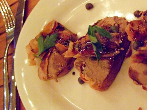 Chicken Liver Crostini, Anella