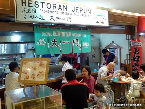 Restaurant Jepun Okonomiyaki Lowyat