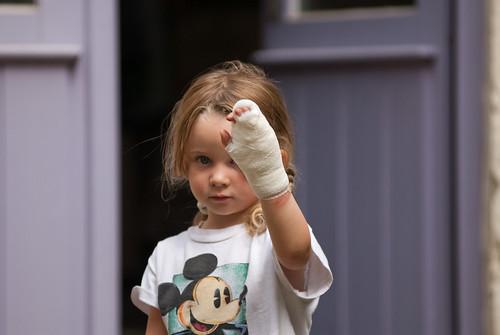 Anna gewond