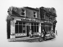 THIS IS ONE OF MY DRAWINGS!!!                                   Elephant & Castle Restaurant, Dublin photo by Jeison Spaniol