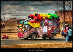 El Alto Parade, Bolivia photo by szeke