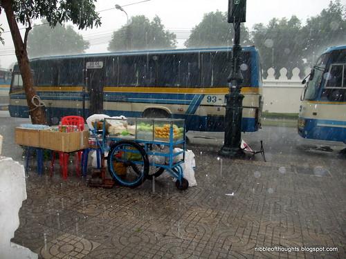 wat pho rain
