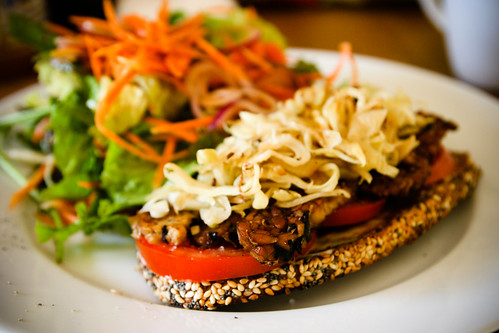 Monica's Magic Tempeh Sandwich