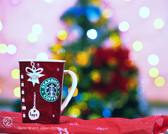 A Merry Coffee Christmas my friends. © Glenn E Waters. Japan. Over 81,000 visits to this image. photo by Glenn Waters ぐれんin Japan.
