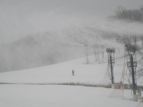 First Snowmaking 09-10 022