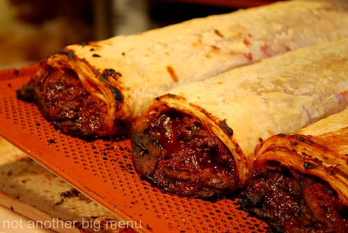 Manchester Christmas market - strawberry strudel 3