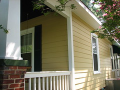 Hardiplank Fiber Cement Siding w Custom Vinyl Replacement Windows Pic 2 photo by CrownBuilders