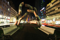 Berlin Plastics at Night photo by flickrgao