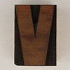 wood type letter V