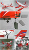 Art-Tech New Windragon III Perfect Beginner Trainer Plane with Pontoon - Perfect for Land and Water