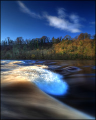 The Tay in Spate photo by angus clyne