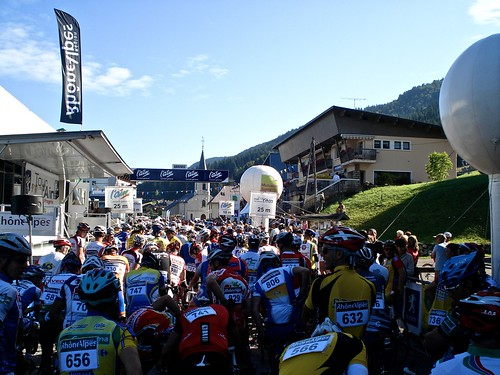 Start -   Tour de l'Ain Cyclosportive
