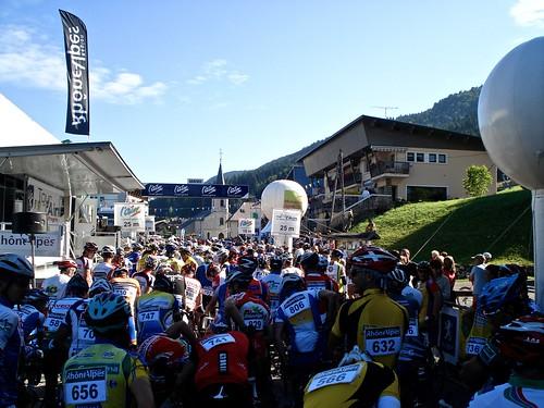 Start -   Tour de l'Ain Cyclosportive