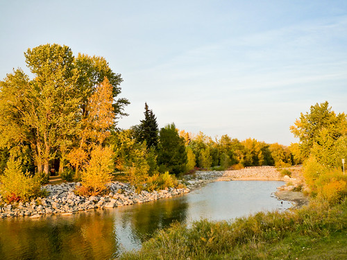 Fall Colours at Prince's Island Park