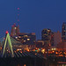 Bond Bridge & KC Skyline at Dusk, Pano, 26 May 2011