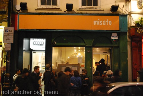 Misato restaurant, London
